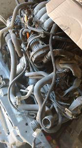 2007 2008 jetta motor & transmission assembly power train Manuel