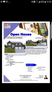 OPEN HOUSE!!! THIS SUNDAY OCT.29TH!! JUST ON THE MARKERT:)