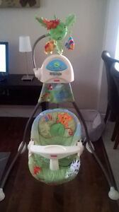Fischer Price Baby Swing - Rainforest
