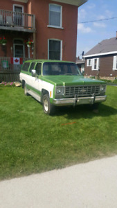 1976 4x4 suburban trade for muscle car