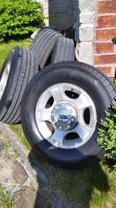 2013 Ford F250 Rims and Tires