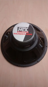 mtx thunder 6000 T61244A 12 inch woofer