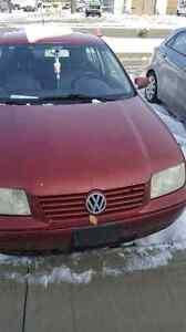 Reduced 2000 VW Jetta