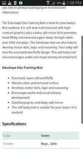 BNIB edu training mat  Peterborough Peterborough Area image 3