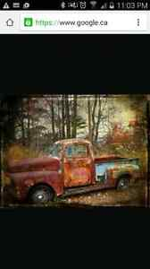 Looking for a rotten old truck.