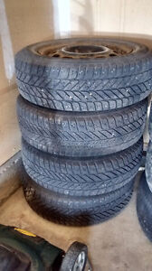 4 WINTER TIRES 195/65R15 ULTRA GRIP ice