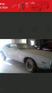 Looking for dodge charger r/t