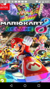 Looking for Mario Kart 8 Deluxe for Nintendo switch