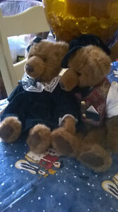 Beatrice and Bearnard Plush Bears Windsor Region Ontario image 1