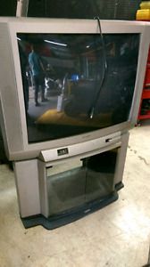 "Toshiba 36"" 1080i HD CRT with stand"