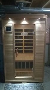 New wood infrared Sauna for 2 persons