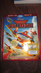 Disney Planes Fire and Rescue Blu-Ray + DVD!