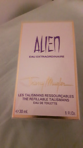Alien perfume and lotion and wash