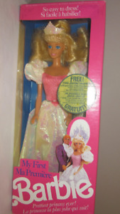 1989 My First Barbie Prettiest Princess Ever doll