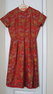 Vintage Canadian Made Woman's Dress