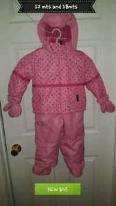 Toddler Snowsuit 12 Mts or 18 mts