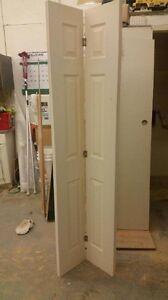 """6-Panel Bi-Fold Door 20 1/2"""" x 78 1/2"""""""