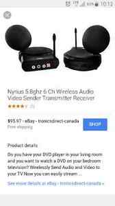 Nyrius audio/video sender/receiver Edmonton Edmonton Area image 2