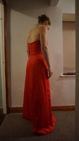 Prom Dress Size 10- Red