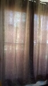 Curtains in different colors