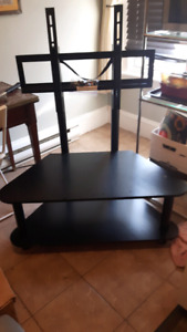 Tv and stereo stand and mount