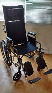Fauteuil roulant manuel/Manual wheelchair