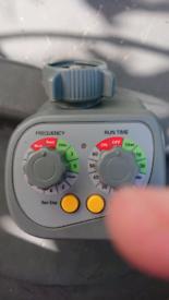 Garden Watering 9V Battery Operated Dial Water Sprinkler Tap Timer