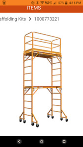 Metal Tech double high scaffold system