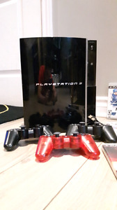 Play station 3 first edition.