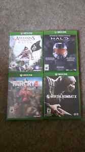 4 xbox one games 60 $$$$$$ West Island Greater Montréal image 1