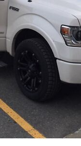 """20"""" black winter rims and tires for sale Ford F150"""