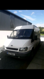 Ford transit RWD 2.4 not (vw vauxhall RENUALT)
