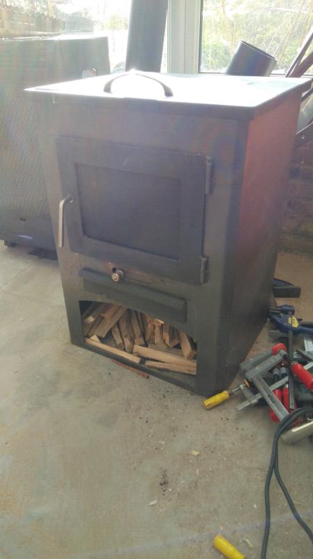 Wood Stove W Oven
