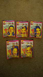 SPICE GIRLS Crazy Dips candy, RARE, still sealed. Set of 5