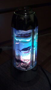 Aquarium Lamp Motion Fish Night Light with Sound
