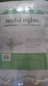 Double fitted  mattress pad/covers from Costco
