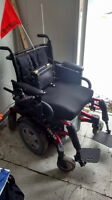 electric wheelchair, barely used