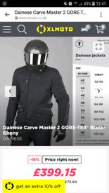 Dainese jacket waterproof