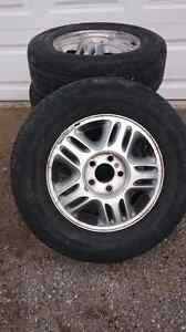 Chevy Venture Rims with Tires