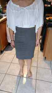 Business skirt and hollister crop blouse Peterborough Peterborough Area image 1