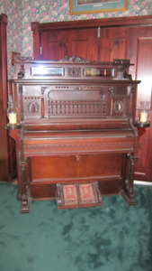 Beautiful Reconditioned Pump Organ/Piano - Trade for Motorcycle