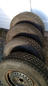 205/75R14 TIRES and RIMS