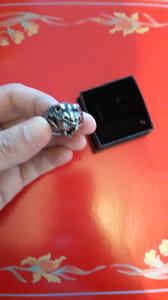 316l stainless steel biker ring