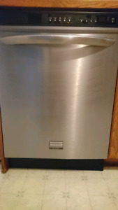 "frigidaire Gallery  24"" stainless steel dishwasher"