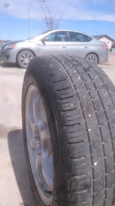 235/60/18 new tires (5x114.3 bolt size)