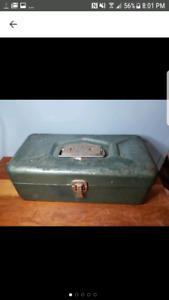 Vintage Old Pal Tackle Box