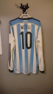 Messi 2014 world cup long sleeve jersey