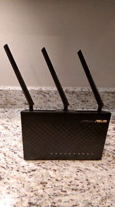 Asus rt-ac68u router high end!