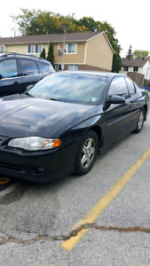 2001 Chevrolet Monte Carlo SS - For Sale