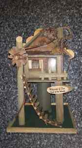 Rustic Neck Of The Woods Birdhouse